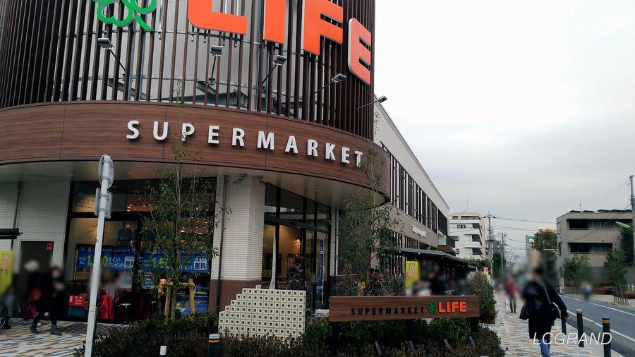 2019年2月5日にプレオープンしたライフ桜新町店の様子