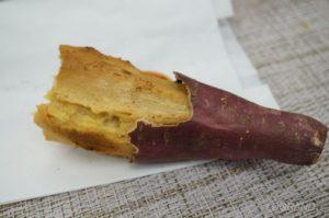 徳島県産のなると金時を使った焼き芋