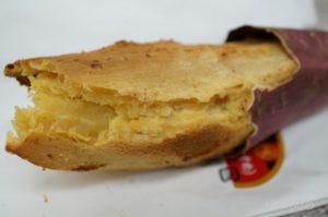 食べやすい形のスティック状の焼き芋