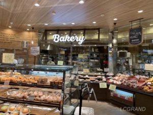 ライフ桜新町店のベーカリーコーナーで名前は『小麦の郷』
