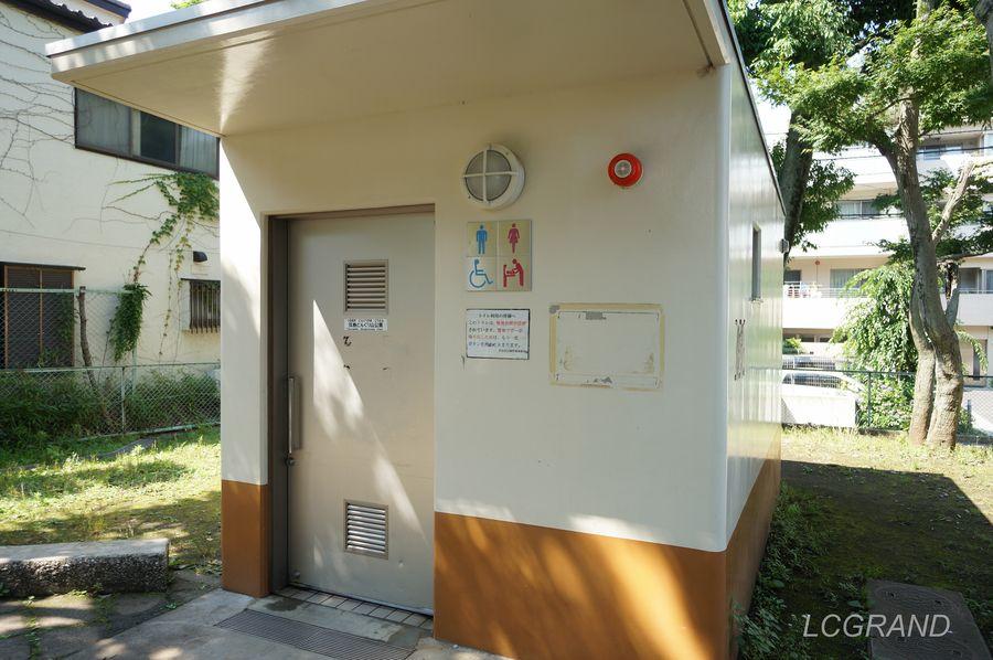 弦巻どんぐり山公園に備えてあるトイレ