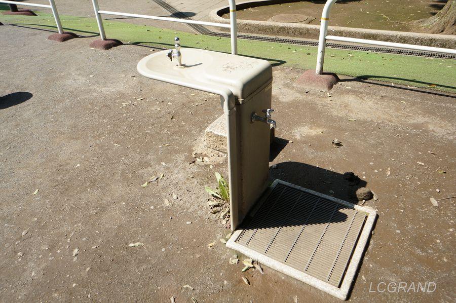 弦巻どんぐり山公園にある水道
