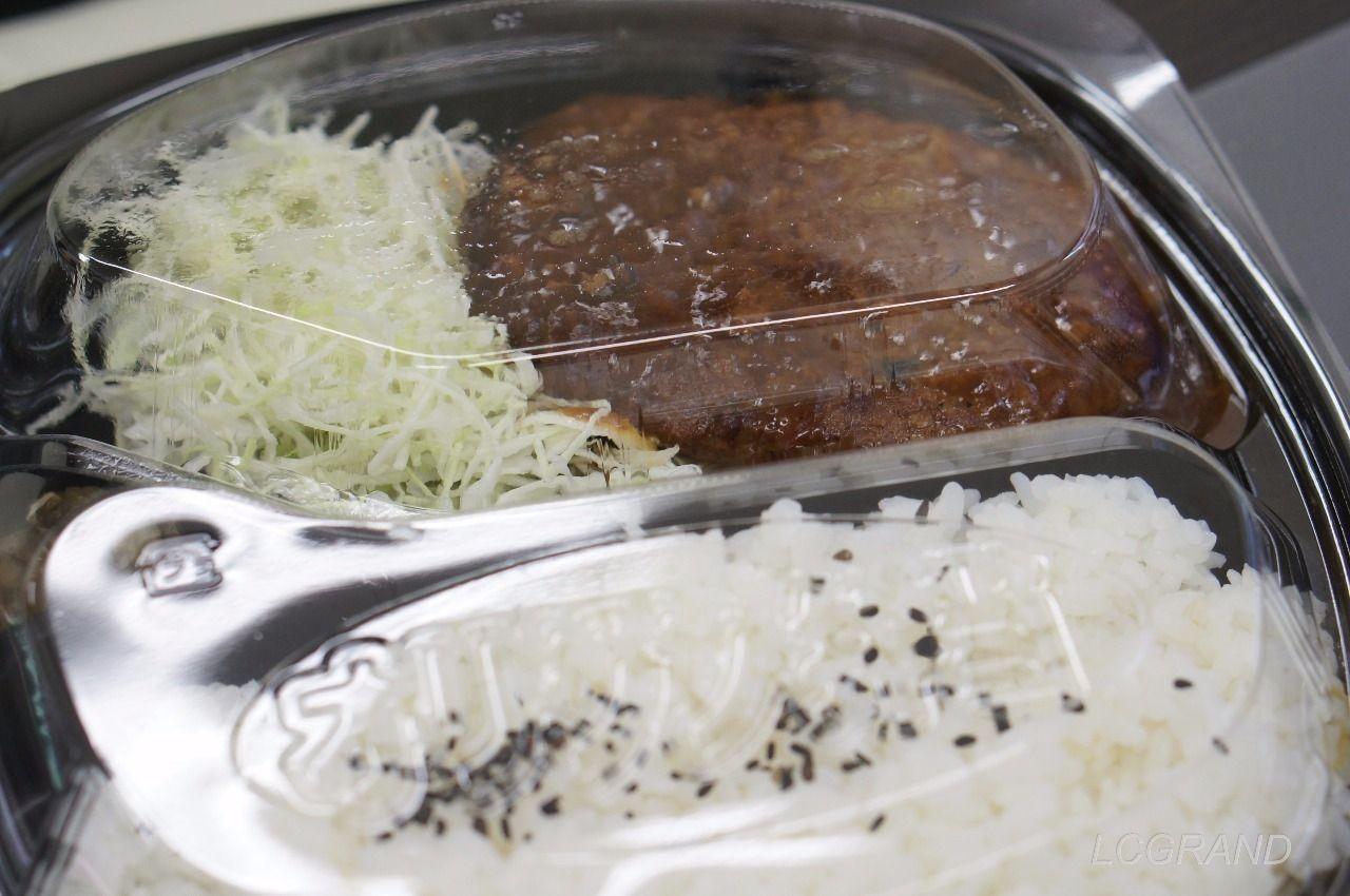 オリジン弁当桜新町店の煮込みハンバーグ弁当