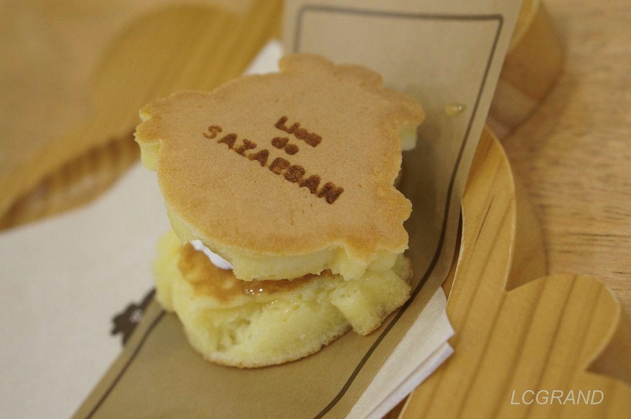リアン・ドゥ・サザエさん (Lien de SAZAESAN) の生クリームとはちみつのパンケーキ