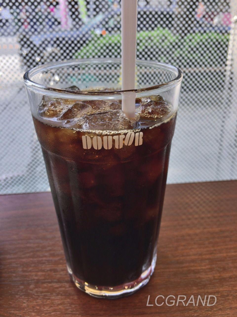 ドトールで提供しているアイスコーヒー