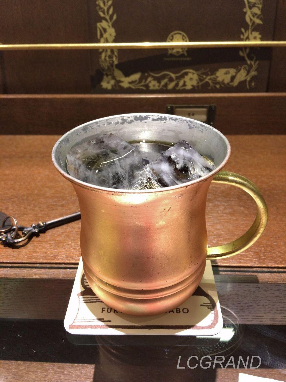 梟書茶房のキリッと冷えた美味しそうなアイスコーヒー