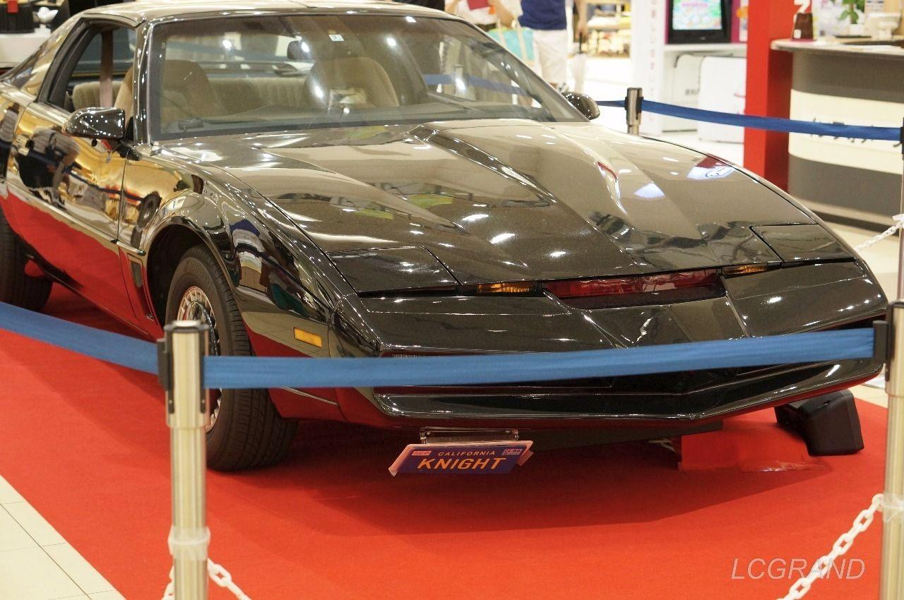 海外ドラマ「ナイトライダー」で活躍したナイト2000の展示車両