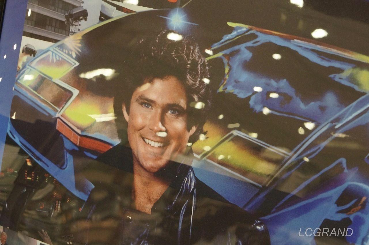 海外ドラマ「ナイトライダー」の主人公マイケルが写ったポスター
