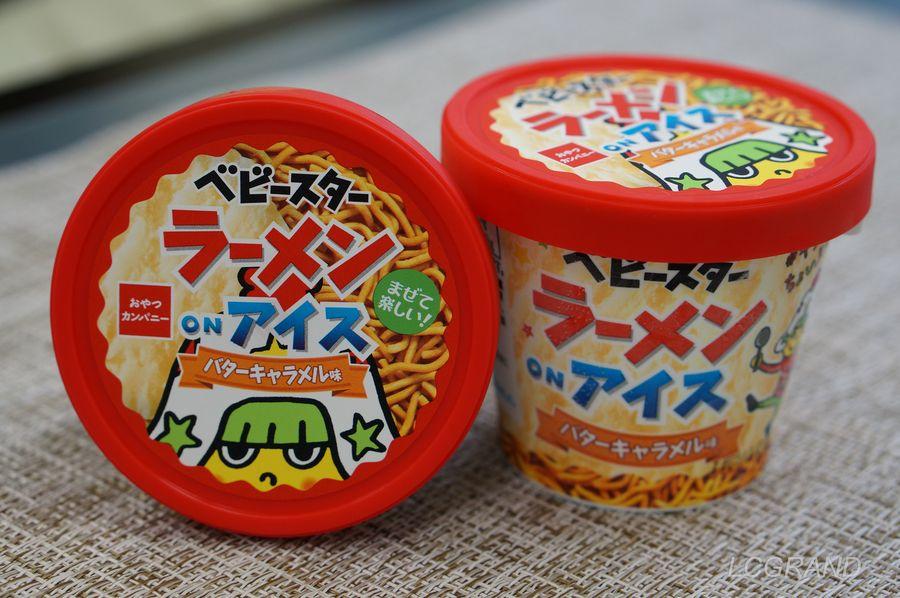 驚きの新発想の新商品、『ベビースターラーメンonアイス』